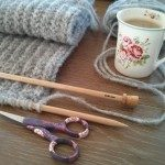 Tricot ¤ Une écharpe au point de brioche