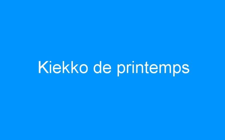 Kiekko de printemps